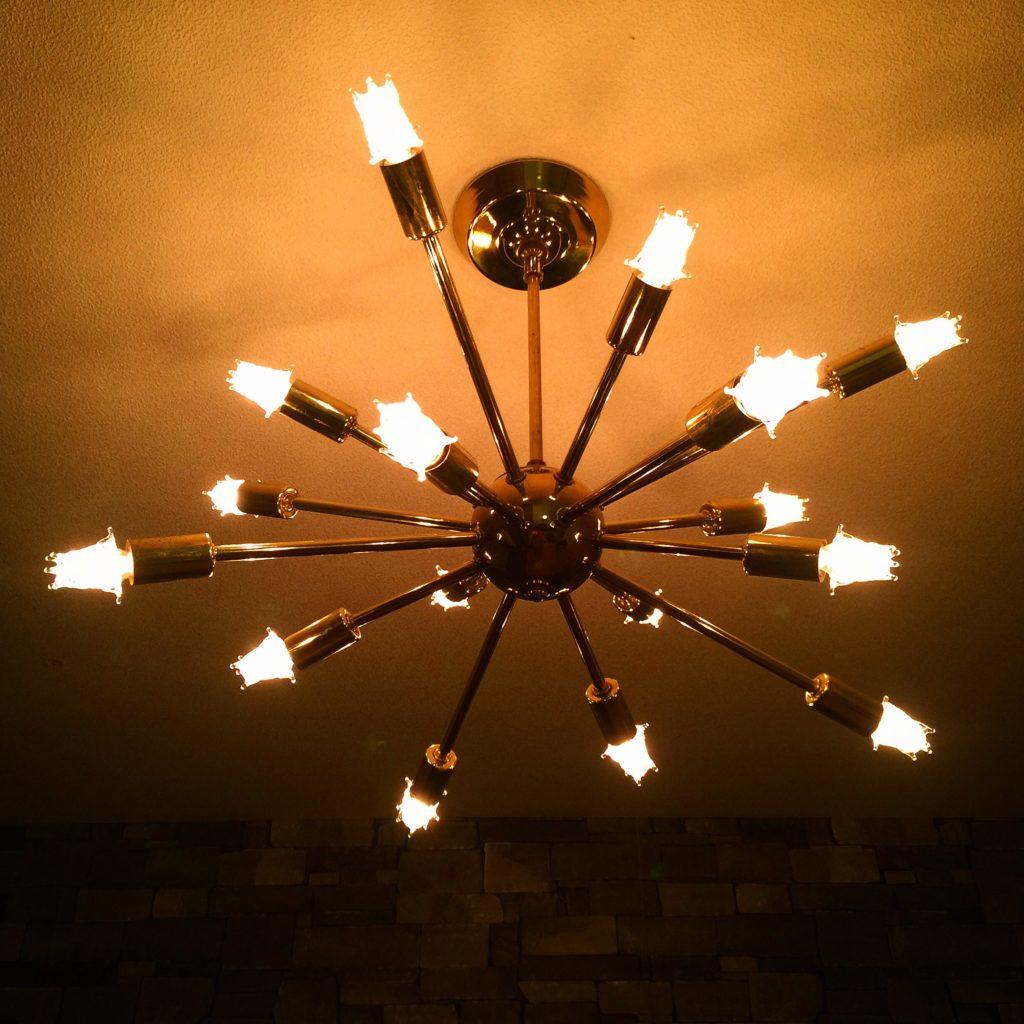 スプートニクランプ16灯