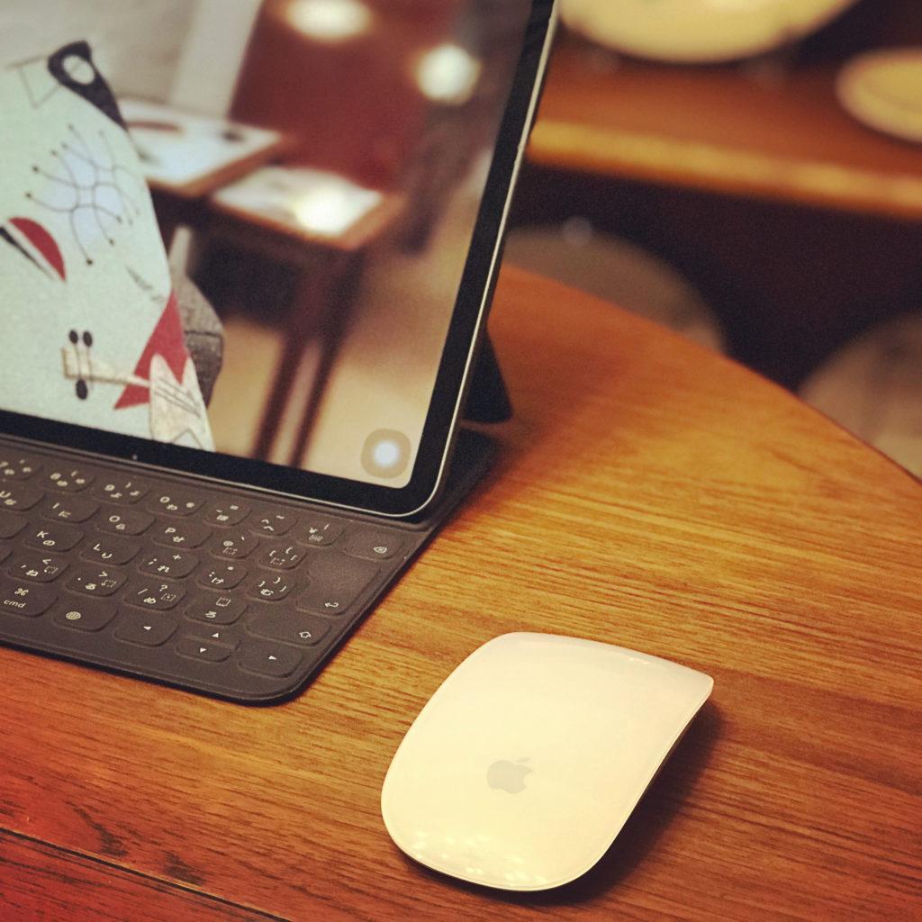 iPadでマジックマウスを使う