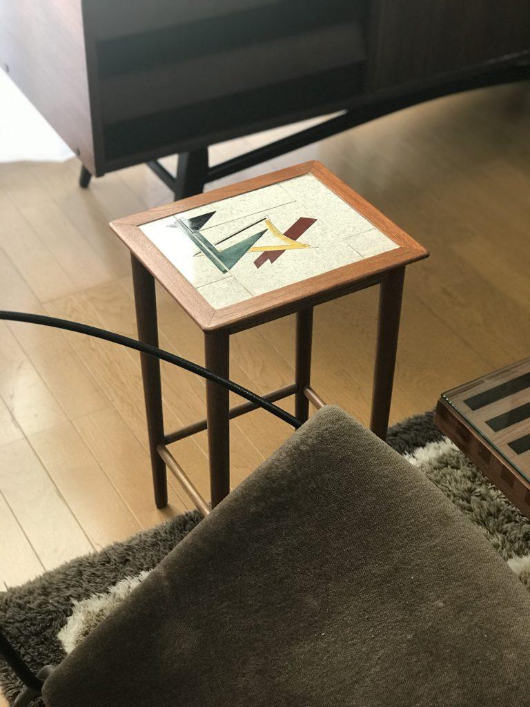 北欧ビンテージネストテーブル活用法 小サイズ