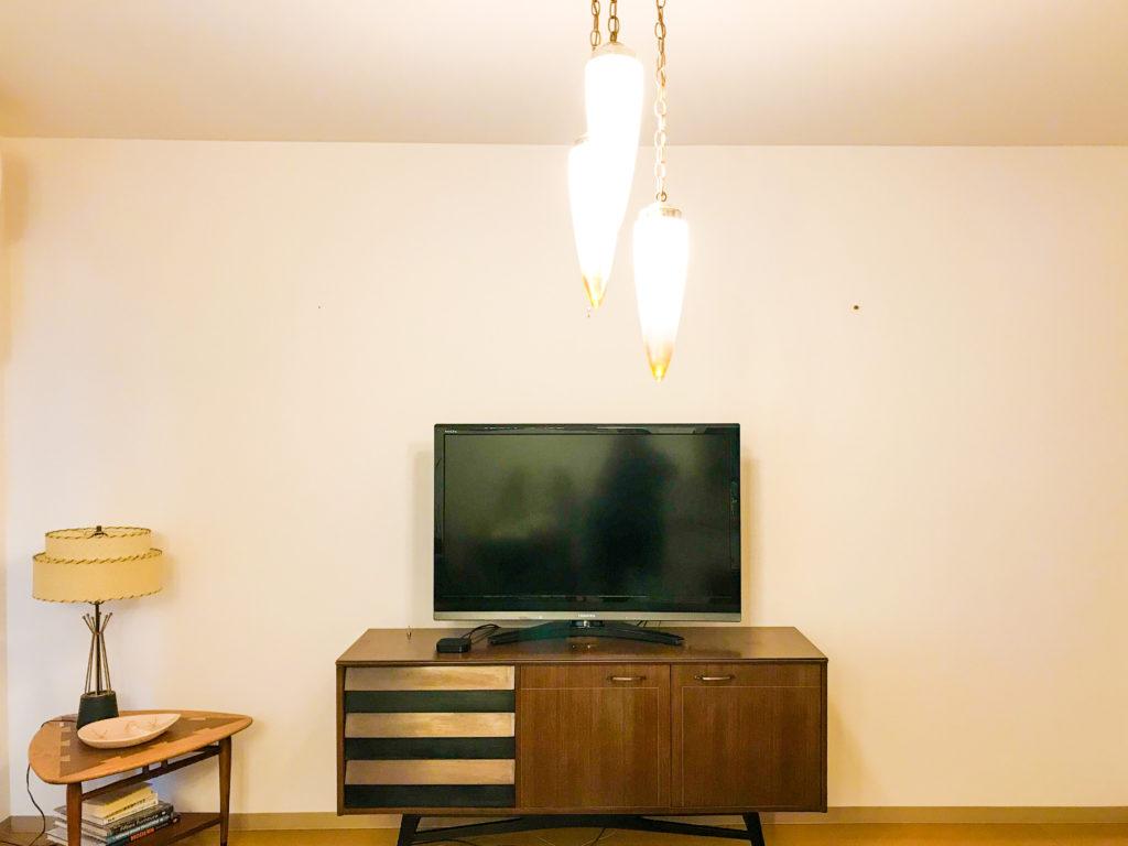 模様替えビフォーアフター|手持ちの家具を置いただけ