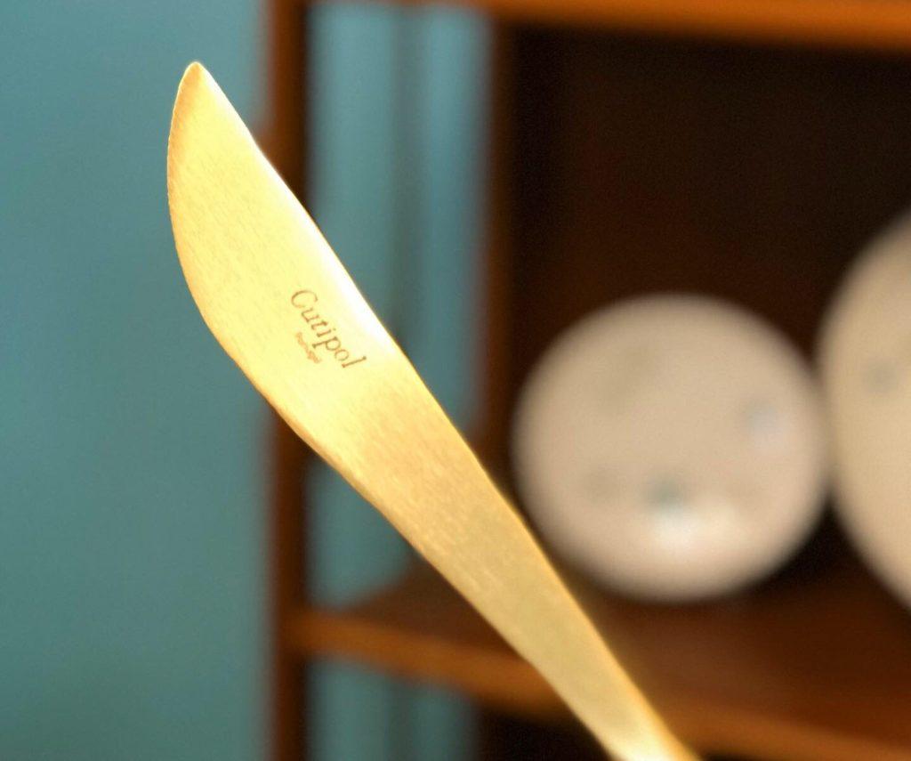 結婚のお祝いなどに最適なクチポール(cutipol)のカトラリーGAOのナイフ