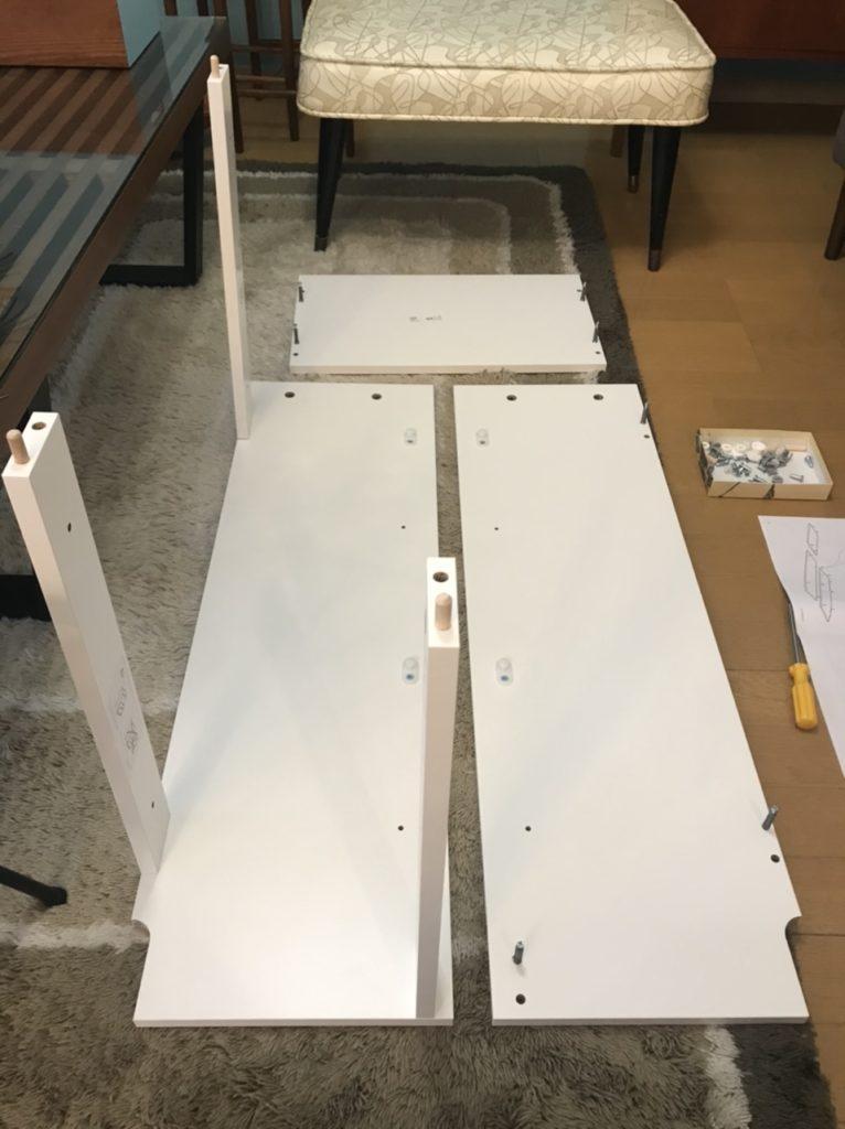 IKEAのBISSA組み立て方法