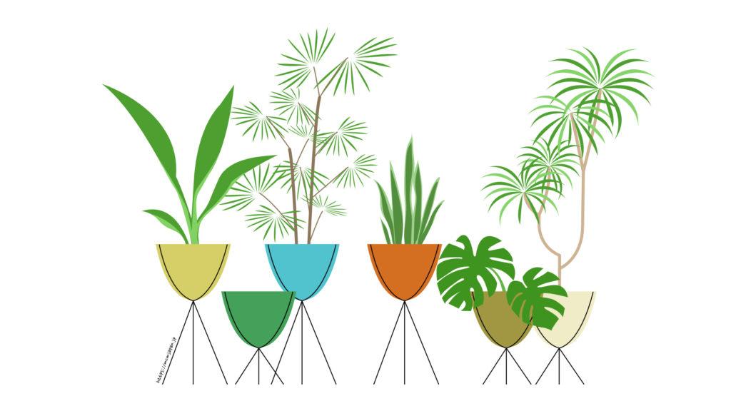 バレットプランター イラスト bullet planter illustration