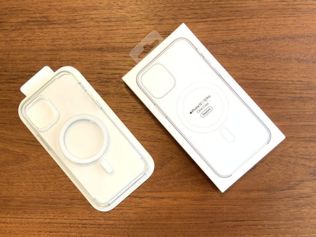 iPhone12  Apple純正クリアケース